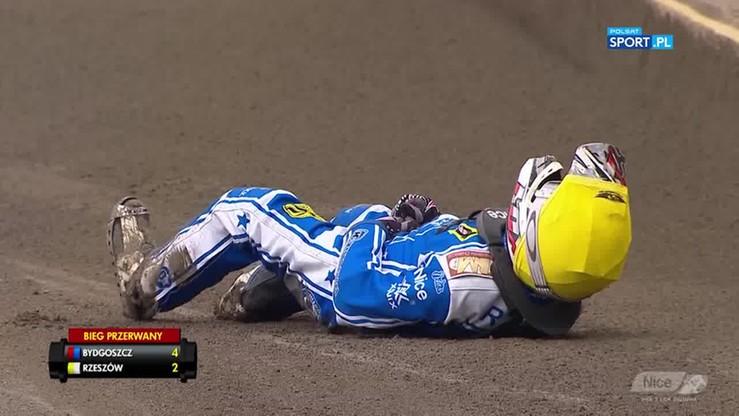 Nice PLŻ: Niebezpieczny wypadek i złamana noga!
