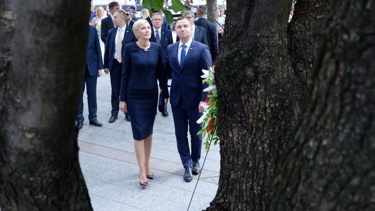 Duda oddał hołd ofiarom zamachów na World Trade Center