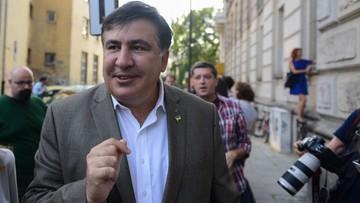 07-08-2017 15:02 Saakaszwili: w poniedziałek wyjeżdżam z Polski