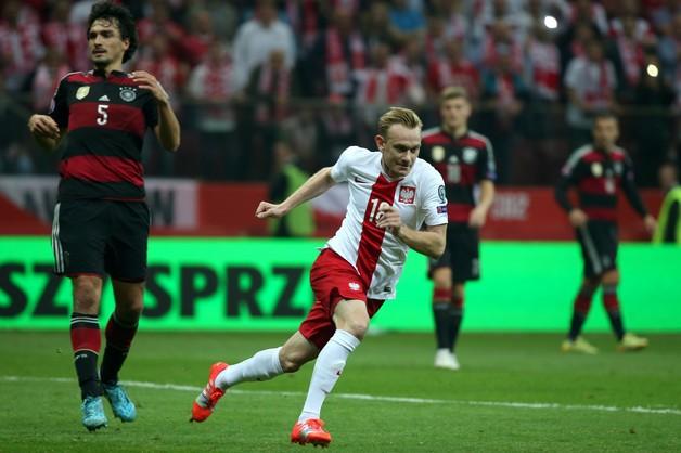 Polscy piłkarze przerwali sześć serii Niemców