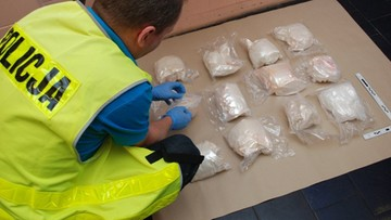 Ponad 40 kilogramów różnych narkotyków przechwycili mazurscy policjanci