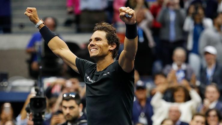 US Open: 16. wielkoszlemowy tytuł Nadala i trzeci w Nowym Jorku
