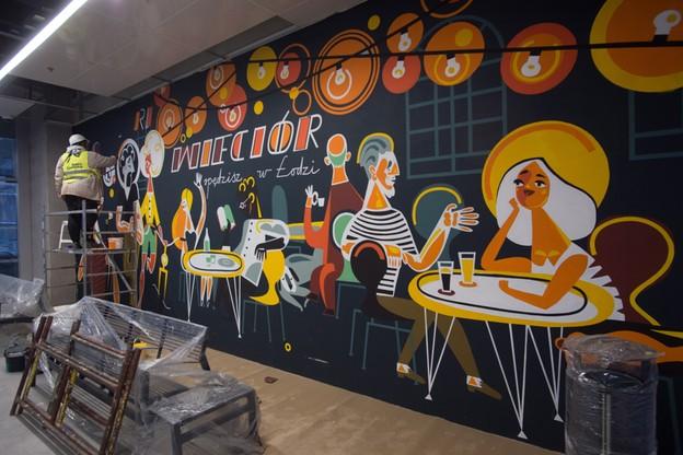 Fabryczna mural