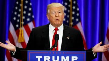 23-06-2016 20:18 Trump umorzył pożyczkę 50 mln USD na swą kampanię wyborczą