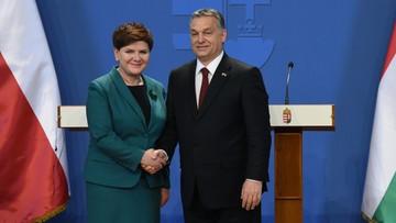 """09-02-2016 12:10 """"Historyczny sojusz z Polakami"""". Węgierska prasa o wizycie Szydło"""