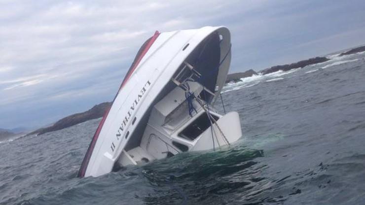 Kanada: zatonęła łódź turystyczna. 5 osób nie żyje