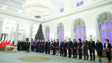 Prezydent powołał rząd Mateusza Morawieckiego. Skład gabinetu bez zmian