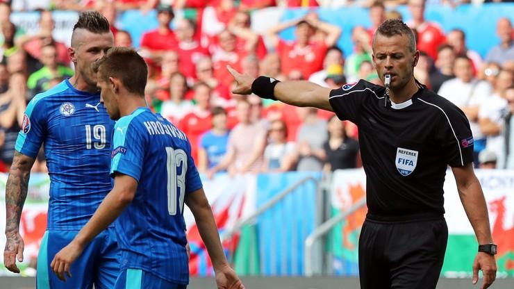 Norweg Moen sędzią meczu Polski z Ukrainą