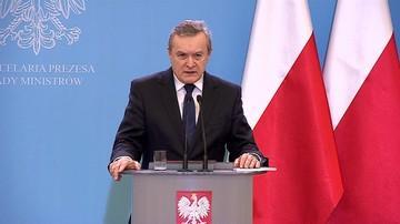 """28-12-2016 09:34 """"Pełzający zamach stanu""""- Gliński o 16 grudnia w Sejmie"""