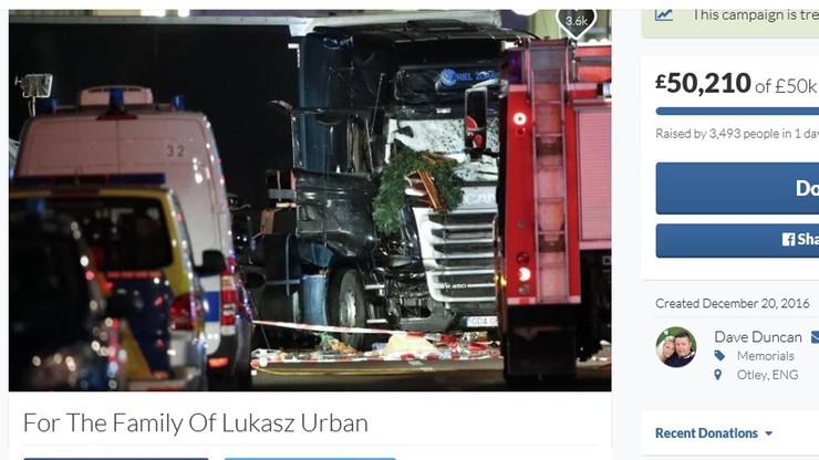 Kierowcy w Anglii zbierają pieniądze dla rodziny zabitego w Berlinie Polaka