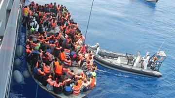 Rekordowa liczba uchodźców uratowanych w niedzielę na Morzu Śródziemnym