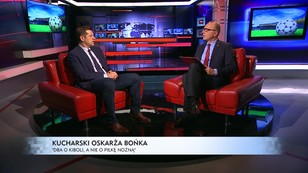 Kucharski oskarża Bońka - Dba o kiboli, a nie o piłkę nożną