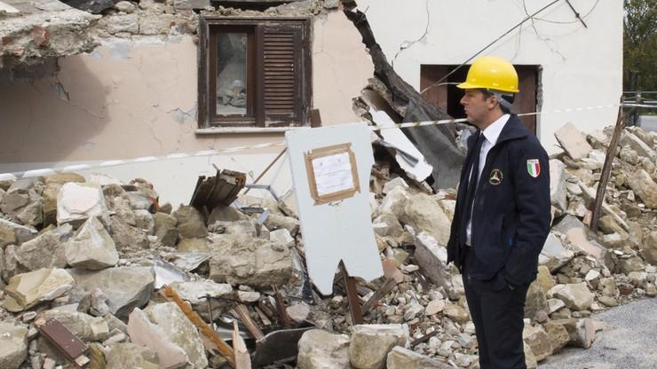Włoski rząd przeznaczy 4,5 mld euro na odbudowę po trzęsieniu ziemi