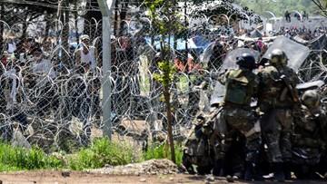 10-04-2016 16:18 Macedonia: policja użyła gazu łzawiącego wobec migrantów w Idomeni