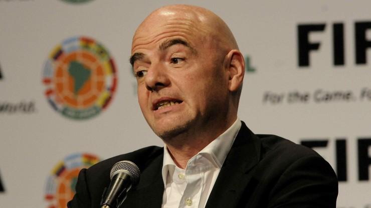 Prezydent FIFA: Rozszerzenie mundialu do czterdziestu drużyn możliwe dopiero od 2026 roku