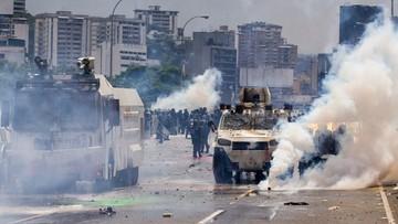 11-05-2017 07:22 Brutalnie stłumiony protest w Wenezueli. Jedna osoba nie żyje