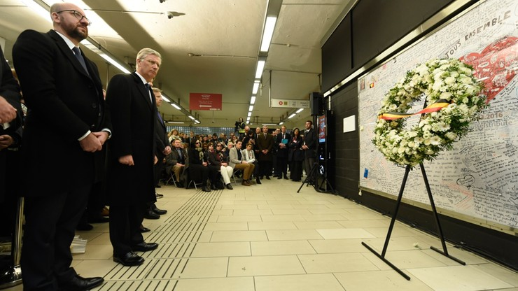 Rocznica zamachów w Brukseli. Wśród ofiar także Polka