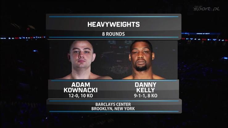 2016-01-17 Adam Kownacki - Danny Kelly. Skrót walki