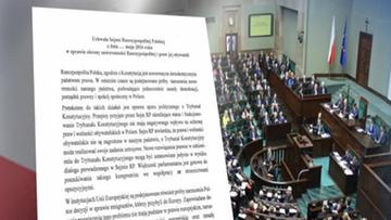 PiS chce uchwały w sprawie obrony suwerenności Polski