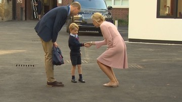 Książę George pierwszy dzień w szkole. Czesne wynosi w niej 83,5 tys. zł