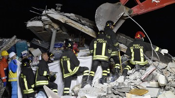26-08-2016 08:54 Tragiczny bilans trzęsienia ziemi we Włoszech. 267 zabitych, blisko 400 rannych