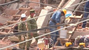 Trwa akcja ratunkowa po trzęsieniu ziemi w Meksyku