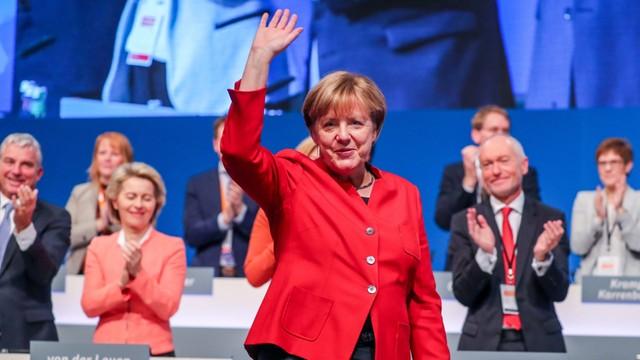 Niemcy: Merkel po raz dziewiąty przewodniczącą Unii Chrześcijańsko-Demokratycznej CDU
