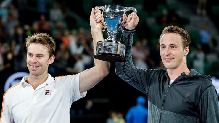 Australian Open: pierwszy wielkoszlemowy tytuł w deblu Kontinena i Peersa