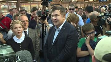 Saakaszwili dojechał do granicy polsko-ukraińskiej. Został odprawiony przez polskie służby graniczne