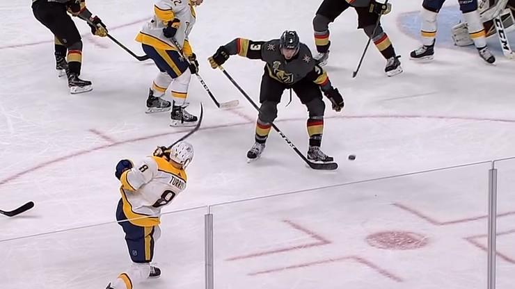 NHL: ósma wygrana z rzędu Vegas Golden Knights
