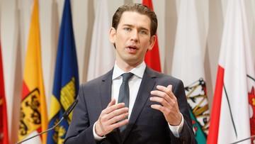 """05-01-2018 15:24 """"Niemcy są naszym najważniejszym partnerem"""". Kanclerz Austrii dystansuje się od spekulacji o sojuszu z V4"""