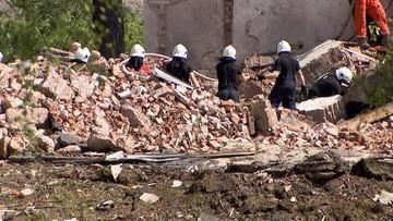 Dolnośląskie: wybuch w zakładzie produkującym proch. Z gruzowiska wydobyto ciała dwóch osób
