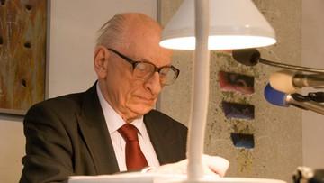 21-04-2016 17:33 KOD: prof. Władysław Bartoszewski patronem Komitetu
