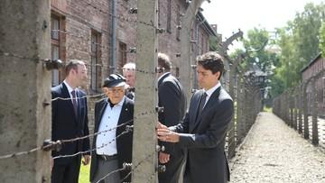 10-07-2016 11:23 Premier Kanady zwiedził Muzeum Auschwitz