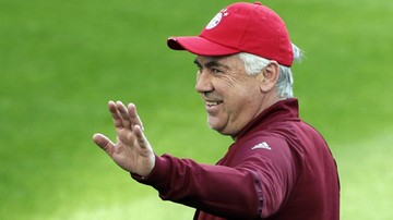 2017-10-03 Ancelotti poprowadził trening w Jerozolimie