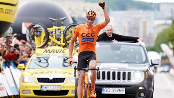 2017-07-29 Tour de Pologne: Nowy rower i strój mistrza Polski