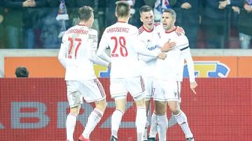 2017-11-28 Puchar Polski: Górnik Zabrze - Chojniczanka Chojnice. Transmisja w Polsacie Sport
