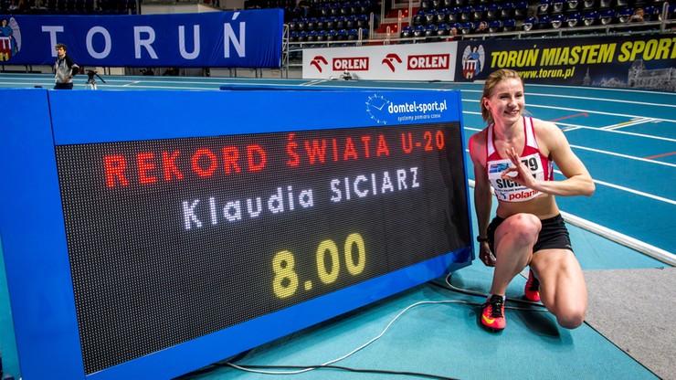 Polka rekordzistką świata na 60 m ppł!