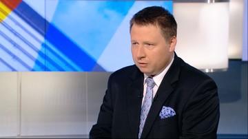 Kierwiński: minister na zielonej trawce przygląda się konfliktowi w Centrum Zdrowia Dziecka