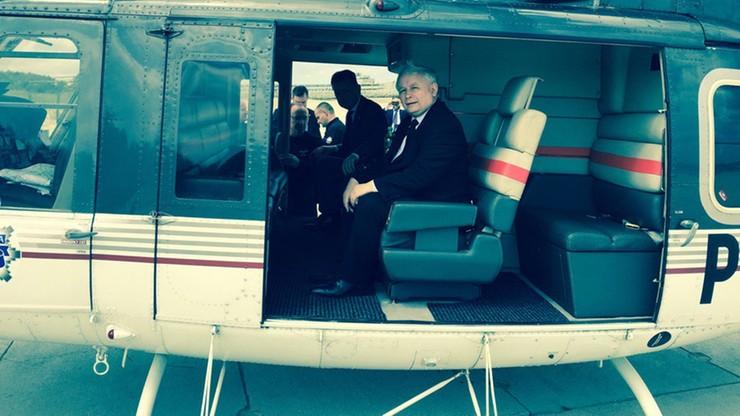 Kaczyński leciał policyjnym helikopterem. Błaszczak: wszystko zgodnie z prawem, ale szef PiS zapłaci za przelot