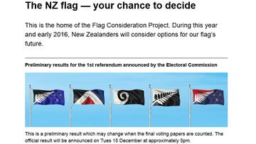 14-12-2015 11:44 Nowozelandczycy wybierają nową flagę. Jutro wyniki referendum
