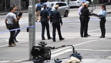 """20-01-2017 10:23 """"To była rzeź na chodniku"""". Samochód wjechał w przechodniów w Melbourne [WIDEO]"""