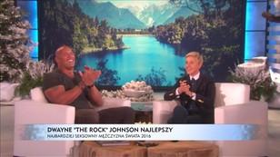 Dwayne The Rock Johnson najlepszy - najseksowniejszy mężczyzna świata 2016