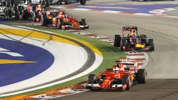 2015-09-20 Vettel zwycięski w Singapurze, Hamilton nie ukończył wyścigu!