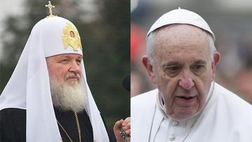 05-02-2016 13:44 Historyczne spotkanie. Papież Franciszek będzie rozmawiać z patriarchą moskiewskim Cyrylem