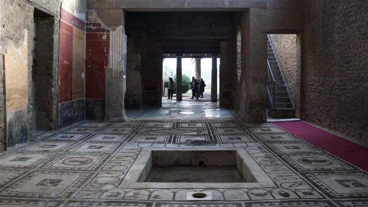 Włochy: w Pompejach odrestaurowano sześć starożytnych domów