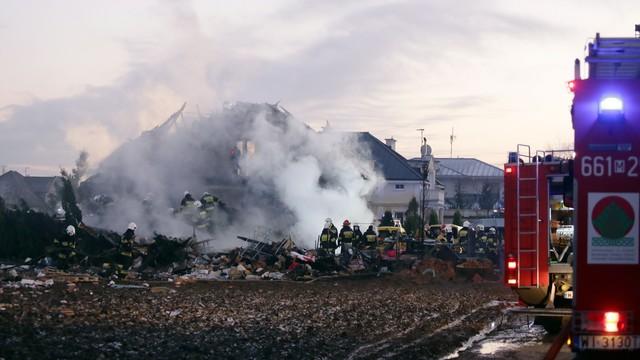 Mazowieckie: w gruzach domu w Łomiankach odnaleziono zwłoki kobiety