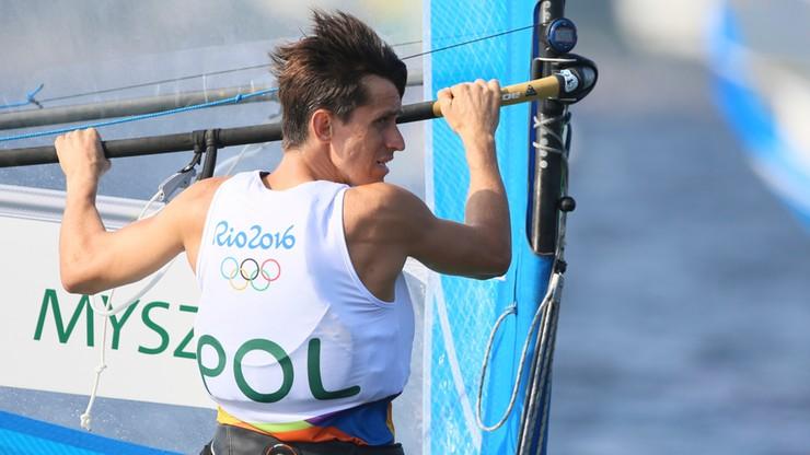Rio 2016: Piotr Myszka trzeci po dziewięciu wyścigach