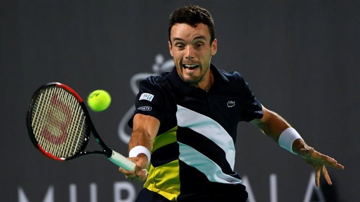 ATP w Auckland: Agut górą w zaciętym półfinale z Haase