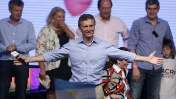 23-11-2015 05:42 Wybory prezydenckie w Argentynie. Zwyciężył Mauricio Macri